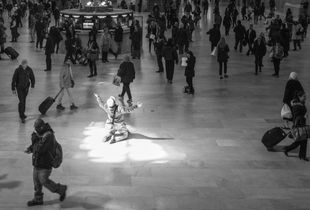 Alone in a Crowd in Grand Central Station#5