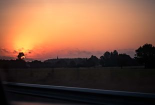 Speedway's sunrise