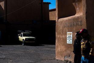 Church Entrance, Albuquerque, New Mexico