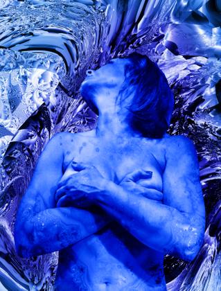 Blue Magdalene