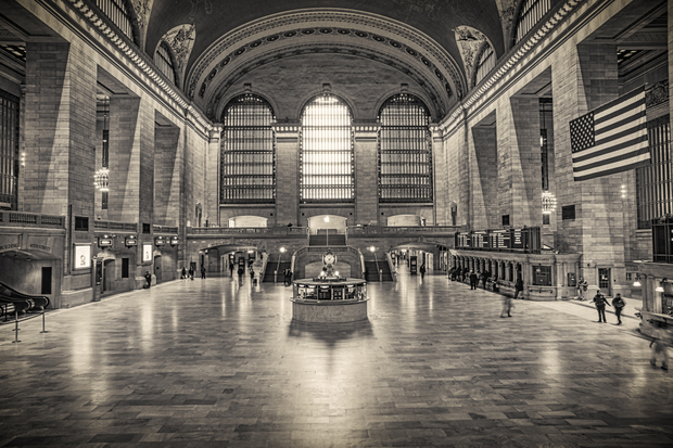 NYC Empty Streets - Grand Central Terminal