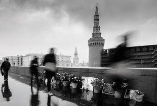 The memorial to Boris Nemtsov