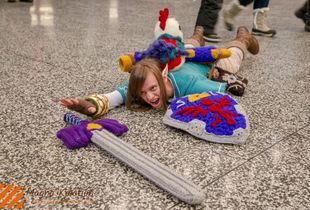 Montreal Cosplayers - The fall