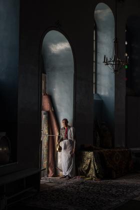 6 pictures was taken in ethiopian church'jerusalem