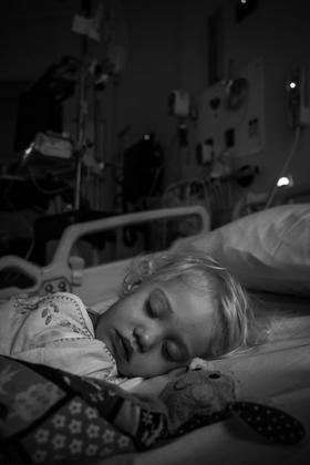 Last sleep before the big operation.