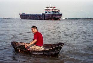 Two boats in Jiujiang