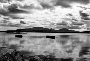 south uist, outer hebrides, study one (two boats)