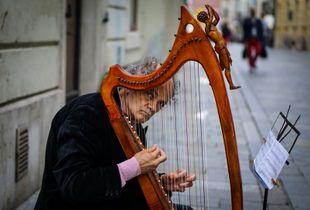 Cellist in Bratislava