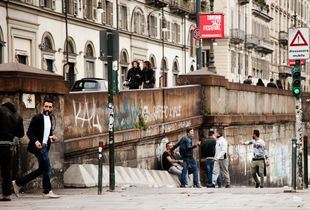 Street in Turin