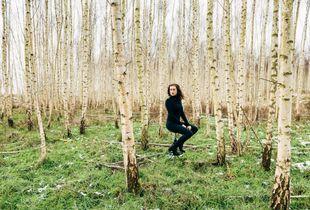 1_Mascha in birches forest