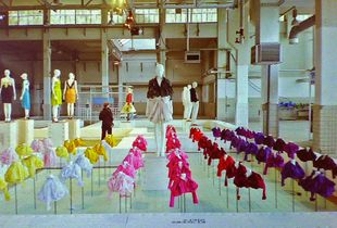 First Arnhem Fashion biennale (2005) exhibited in the former Coberco dairy-factory (image remastered from film)
