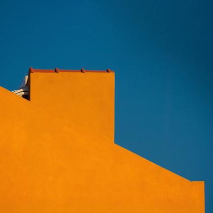 Façade et bordure de toit à Lisbonne