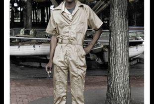 Carny Worker, Como Park, St. Paul, MN.