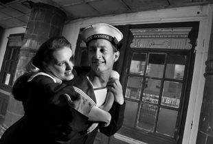 Wartime Romance - The Naval Rating and the Girl in the Golden Cage