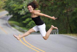 Прыжок счастья