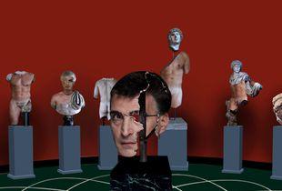 Zoltan as Roman sculptures, today.2020.002