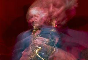 Portrait of Saxophonist Dave Turner
