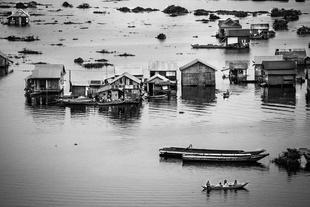 Floating village, Siem Reap