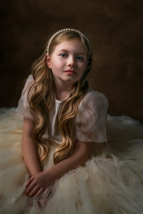 Doll with pearls