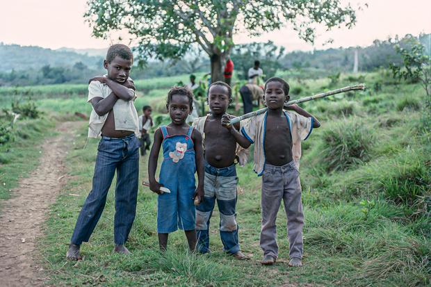 Group of boys, Jamaica