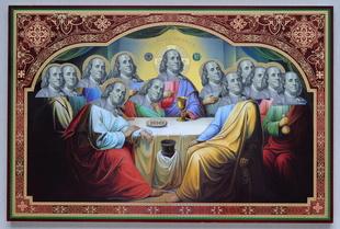 Saint Franklin Last Supper#1