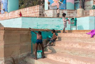 Painting the Ghat