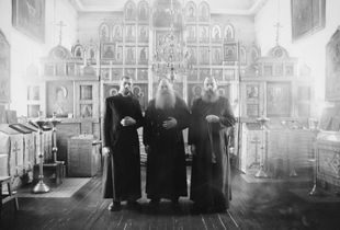 Three brothers, members of the religion community.