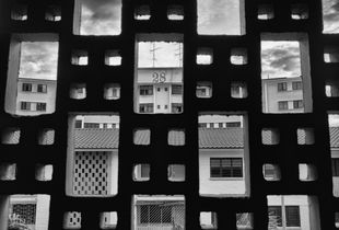 Architecture from the 1950's. 12th December, 2016.