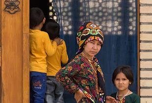 Turkmenistan Family