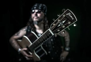 Jimmy Gee at the Framus