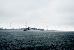 White ship-Rotterdam