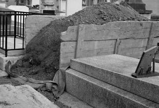 Père Lachaise Cemetery (Unearthed Grave),  2020
