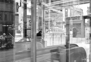 后疫之一:地铁站