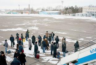 """Blagoveshchensk, February 16, 2011, 50°25'14""""N, 127°24'35""""E © Max Sher"""