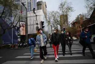 上海 四月