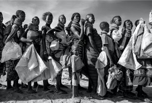 Turkana Women Standing