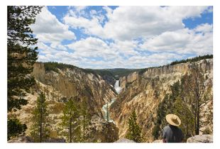 Lower Falls of the Yellowstone River, from Artist Point, from the series, More Than Scenery: Yellowstone, an American Love Story, © 2008–2016