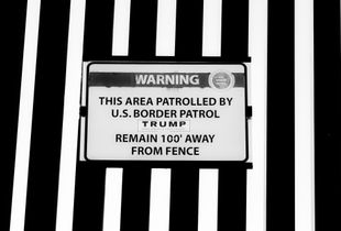 The Wall - illegal sticker