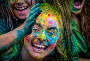 Holi Festival Auckland, New Zealand