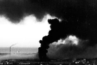 17-7-1988 The fire to the chemical industry Farmoplant