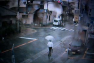 Mass Surveillance, Osaka, Japan, 2011.     Photographic Still of Live Streaming Webcam © Gaialight
