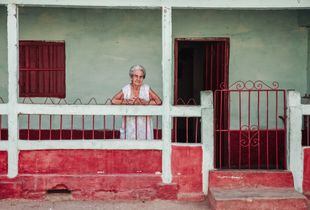 Serenity of an old Cuban lady