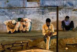 Evening, Muslims are resting