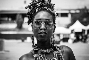Afro Centric Woman