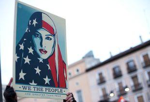Icon for Women's March anti Trump