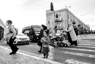 Rush hour in Jeruzalem