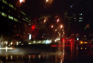 Painting With Night Light, Montreal