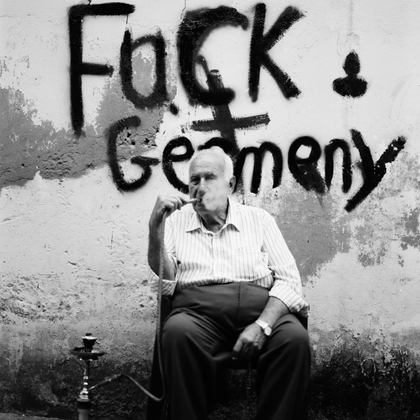 Fuck Germany in Bourj Hammoud _ Beirut, Lebanon _ Hasselblad 500 c/m medium format