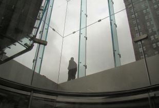 Título: Solitude Standing I / Fotografía Digital - Toma Directa / Medidas: 62 x 50 cm / New York, USA - 2011© Raquel Bigio