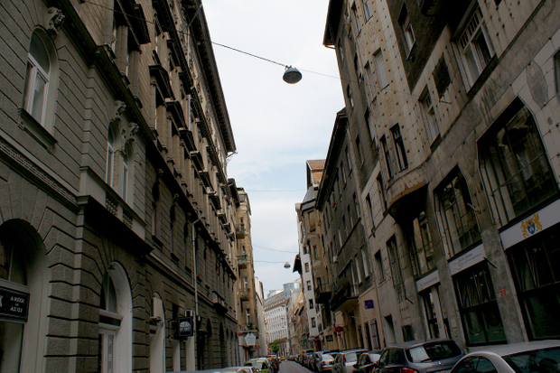 The Jewish District of Budapest